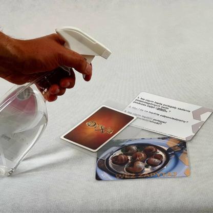 dezynfekuj karty